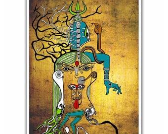 c5ecba737a Kali Goddess Indian Art Canvas Print