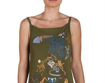 9966628fee3004 Led Zeppelin Tank top - Led zepp Art Top- Music Tank Top-Graphic women tee-  Rock N Roll women Top- Zoso