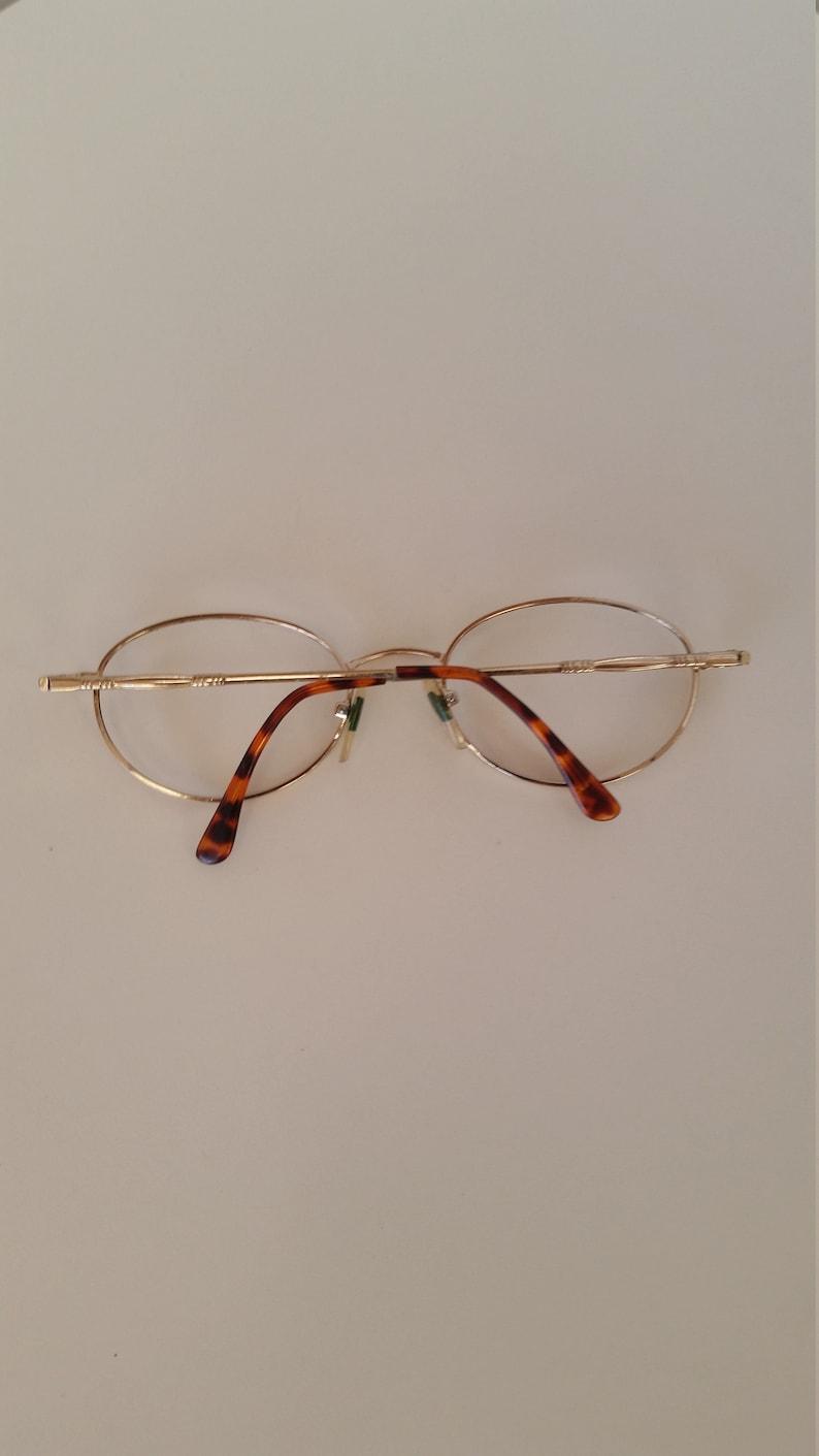 f4cbc211d731 1980s Tortoise   Gold Eye Q Eyeglasses Frame Excellent
