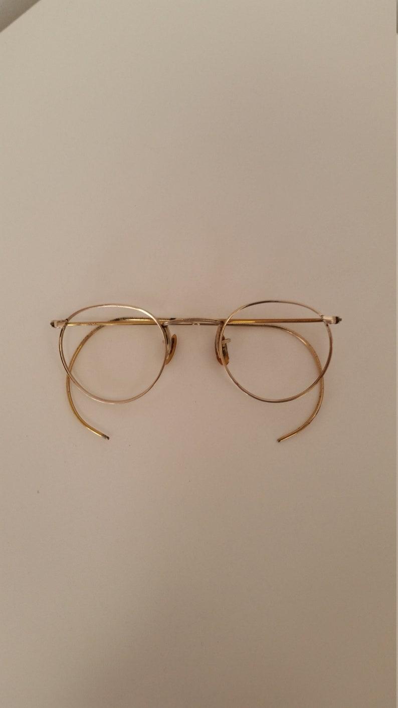 c8551c5894 1930s Shuron Ful-Vue Eyeglasses Frame 1 10 12KGF Gold