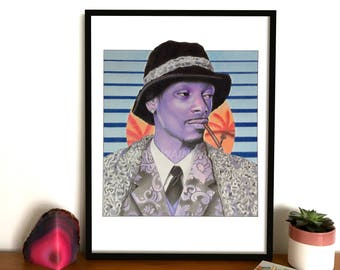 Snoop Dogg 'Sunset Funk' Print **LIMITED EDITION**