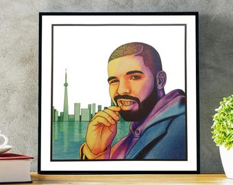 Drake Print **LIMITED EDITION**