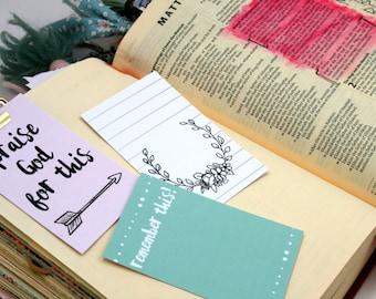 Bible Journaling Cards