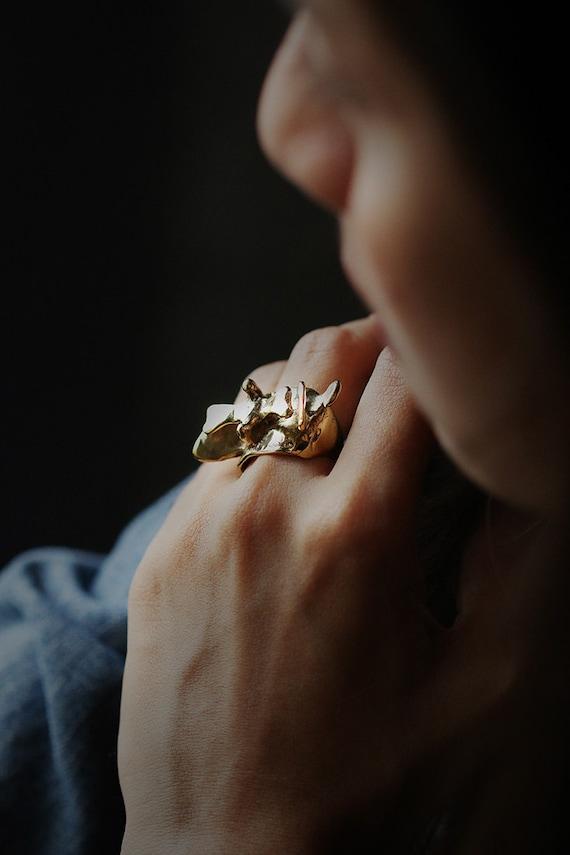 Columna vertebral anillo Anatomía anatomía joyería anillo | Etsy
