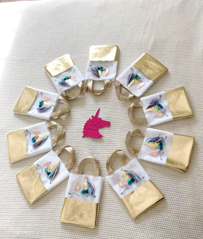 Set of 12 unicorn favor bags,unicorn party bags,unicorn bags,unicorn party accessories,unicorn party,unicorn candy bags,party bags girl,