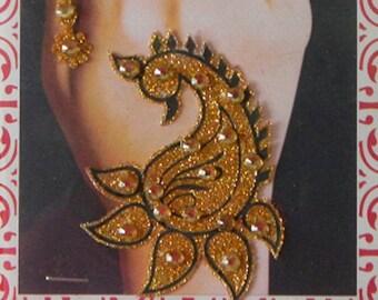 Golden Henna Etsy