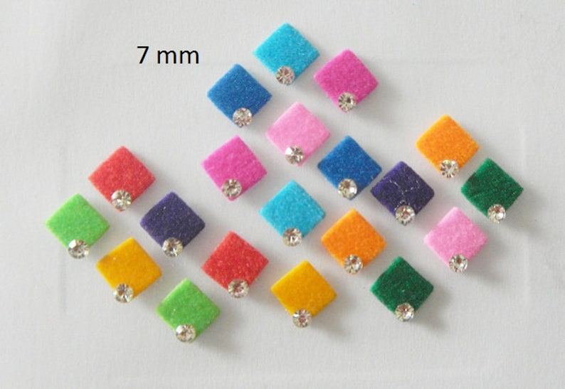 Bindis Colorful Face Jewels Forehead Decoration Indian Etsy