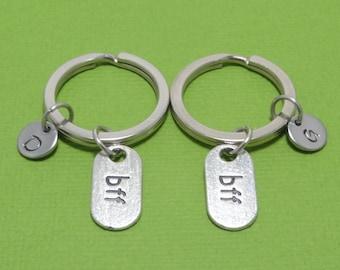BFF Keychain, Best Friend Keychain, BFF Gift, Best Friend Gift, Best Friends, Couple Gift, Couple Keychain, Friendship Keychain, Gift