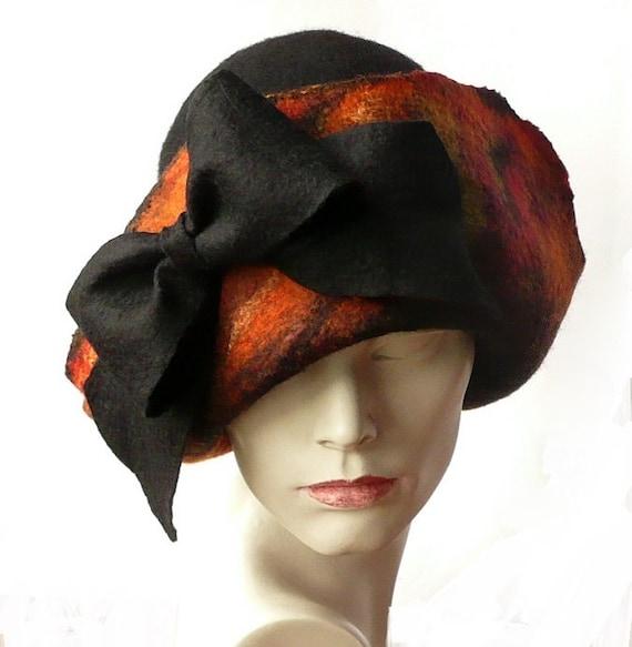 De fieltro sombrero sombrero de fieltro sombrero de mujer  5cd361b83daf