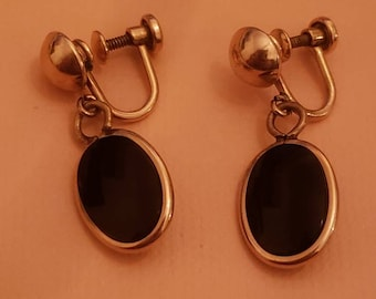 Lot B Vintage Pierced Earrings Gently Used