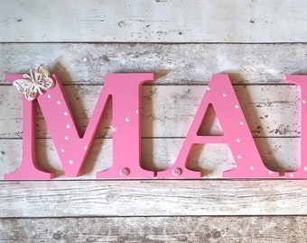 20cm Wooden Wall Names