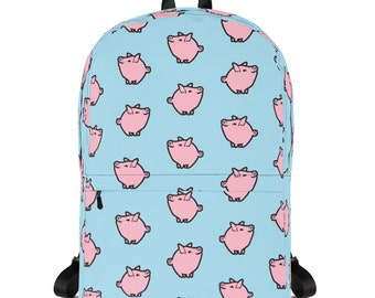 Pastel Pig Backpack