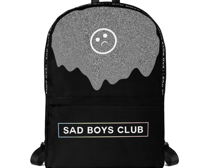 Featured listing image: Sad Boys Club Backpack