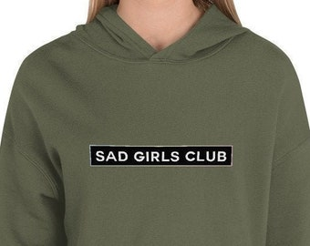 Sad Girls Club Crop Sweater