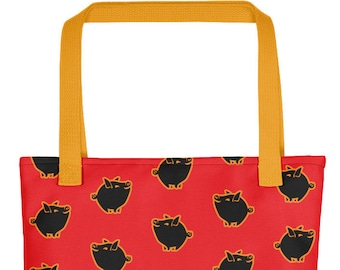 Prosperity Pig Tote Bag