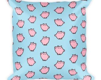 Pastel Pig Pillow