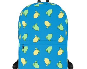 Lemon Lime Backpack