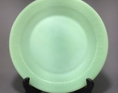 Vintage 9 1 8 Jadeite Green Glass Fire King Oven Ware Dinner Plate Jane Ray