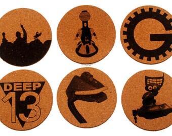 MST3K Inspired Coasters
