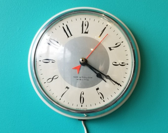 "7"" Westclox Electric Oracle Wall Clock"