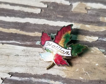 Halifax Maple Leaf Lapel Pin