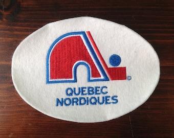 Quebec Nordiques Team Logo Patch