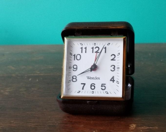 Westclox Travel Mechanical Alarm Clock