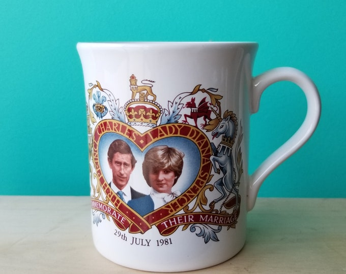 Diana and Charles Royal Wedding Mug