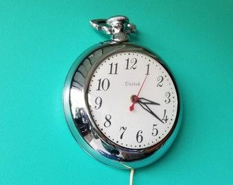 United Electric Wall Clock