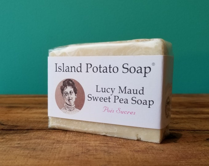 Island Potato Soap Co - Lucy Maud Sweet Pea Soap