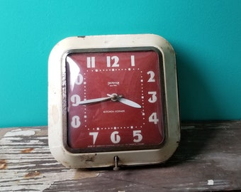 Ingraham Electric Kitchen-Korner Wall Clock