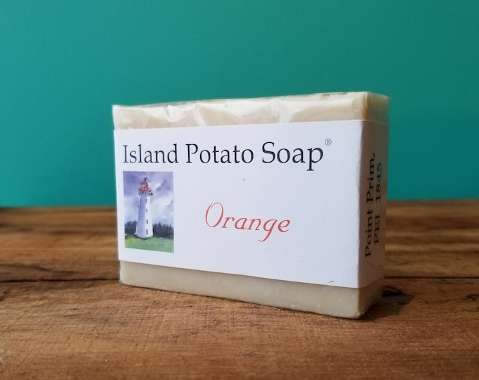 Island Potato Soap Co - Orange Soap