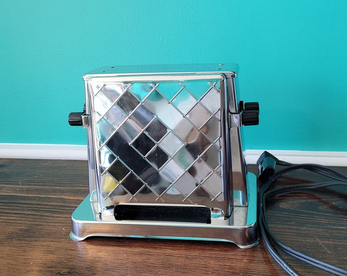 Art Deco Chrome Toastess Toaster