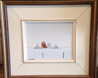 James Olaf McIntyre Framed Original Acrylic on Panel