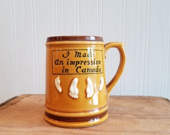 Canadian Souvenir Mug - Giftcraft - Japan