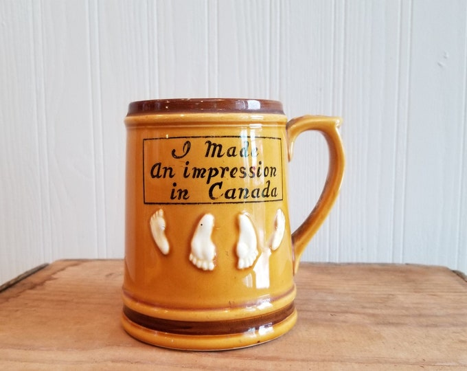 Canadian Souvenir Mug - Giftcraft - Japan