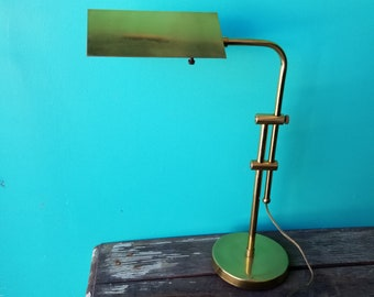 Brass Adjustable Desk Lamp