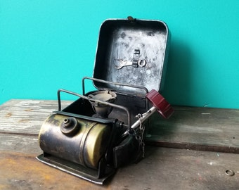 Vintage Primus 8R Folding Gasoline Camp Stove - Made in Sweden
