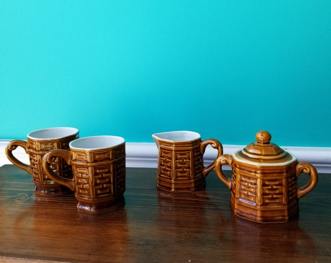 Tea For Two - Adorable Ceramic Tea Set - Japan