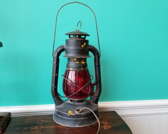 1954 Dietz No.8 Air Pilot Electrified Lantern