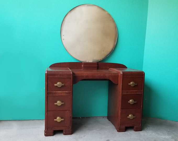 Waterfall Style Vanity Table - Local Pick Up