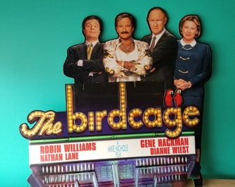 The Birdcage Movie Original Theatre Standee