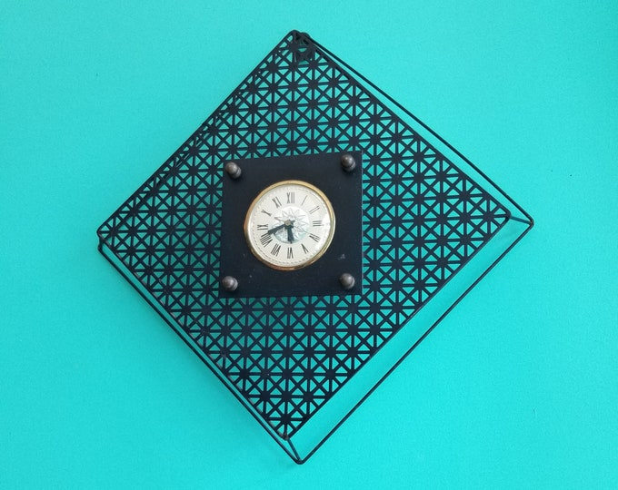 Midcentury Modern Electric Wall Clock