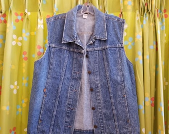 Levi's Orange Tab Denim Vest