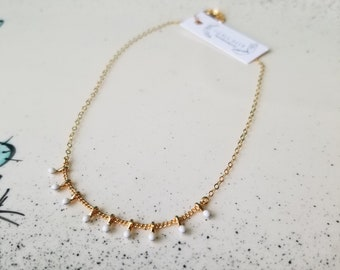 Dainty Dots Necklace - 14k Gold-Filled