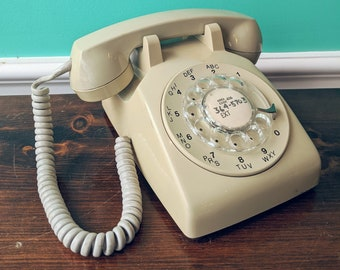 1960s American Electric Rotary Phone