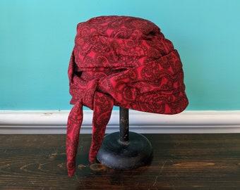 1940's  Turban Gambler Style Hat