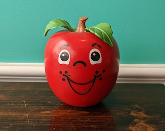 1972 Fisher Price Happy Apple Roly Poly Chime