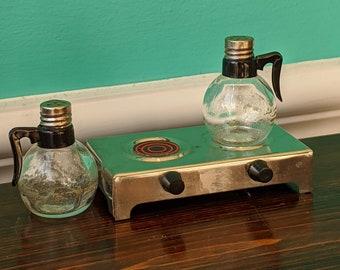 Vintage Diner Coffee Salt and Pepper Shaker Set