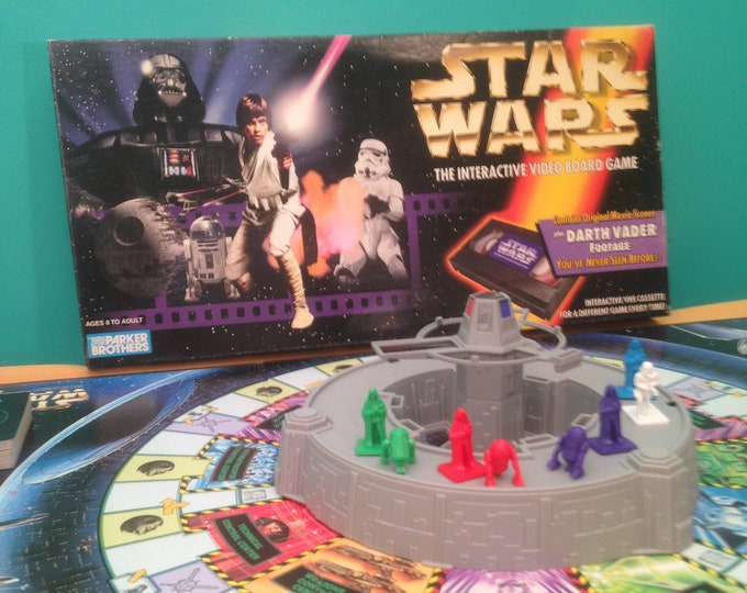 Star Wars: The Interactive Video Board Game 1996